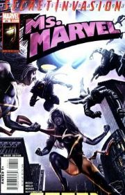 Ms. Marvel #26 Secret Invasion Marvel comic book